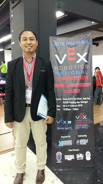 Ketua Juri bagi Kategori STEM untuk Pertandingan Robotik VEX Peringkat Kebangsaan 2016
