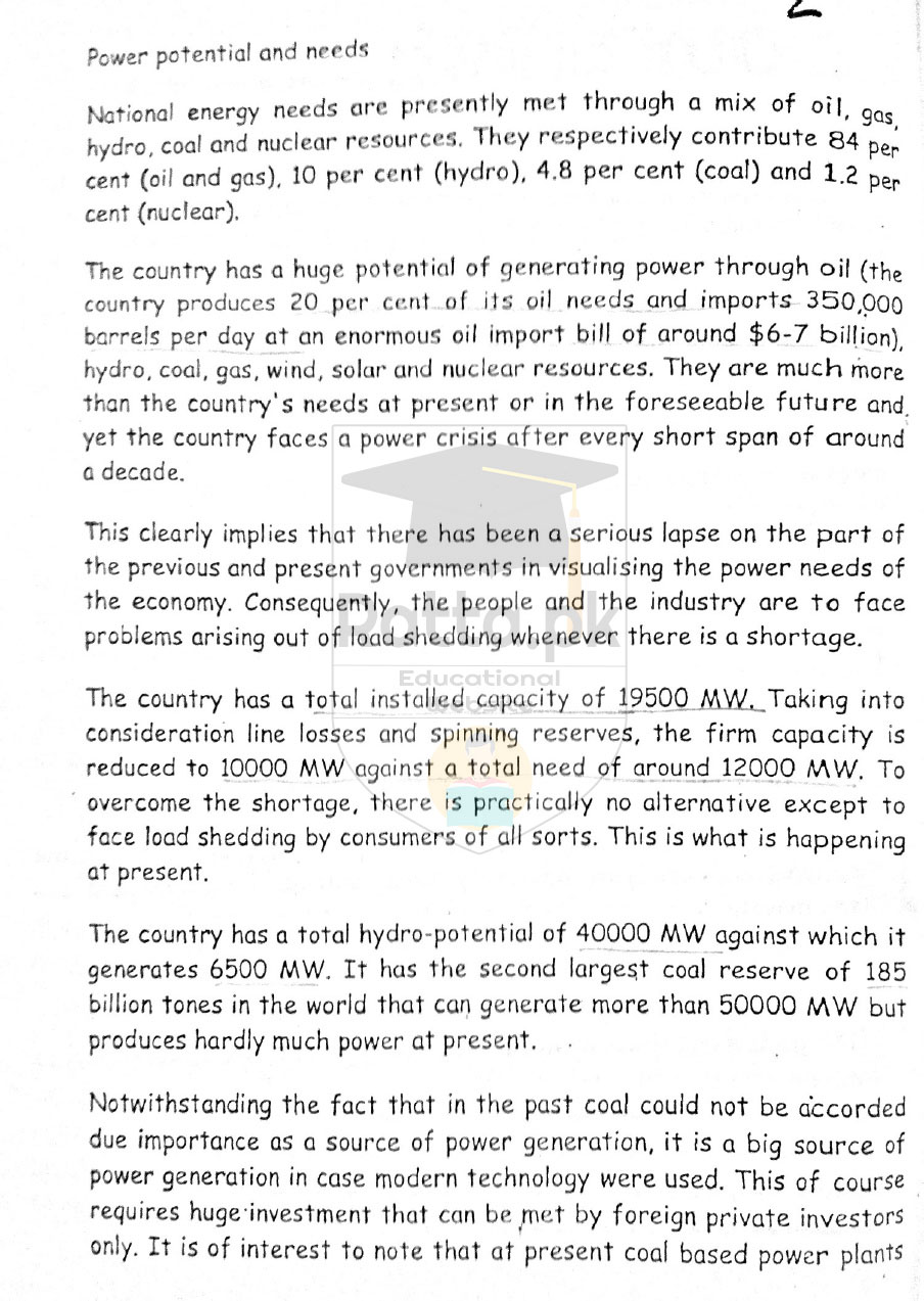 energy crisis and pakistan essay Pakistan's energy consumption is met by mix of gas, oil, electricity, coal and  i  hv read ur essay energy crisis in pakistan i want to add some.