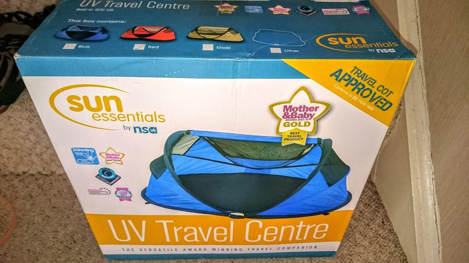NSA Deluxe UV Travel Centre Ocean Blue