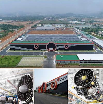 nhà máy sản xuất linh kiên động cơ máy bay