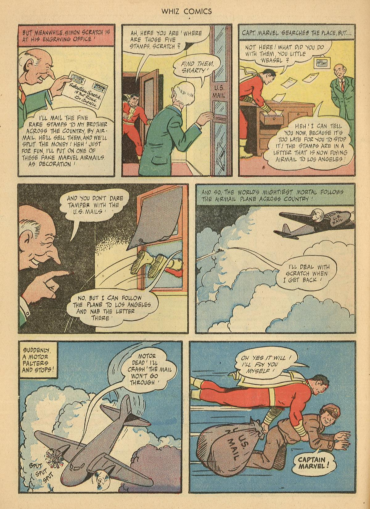 WHIZ Comics issue 67 - Page 10