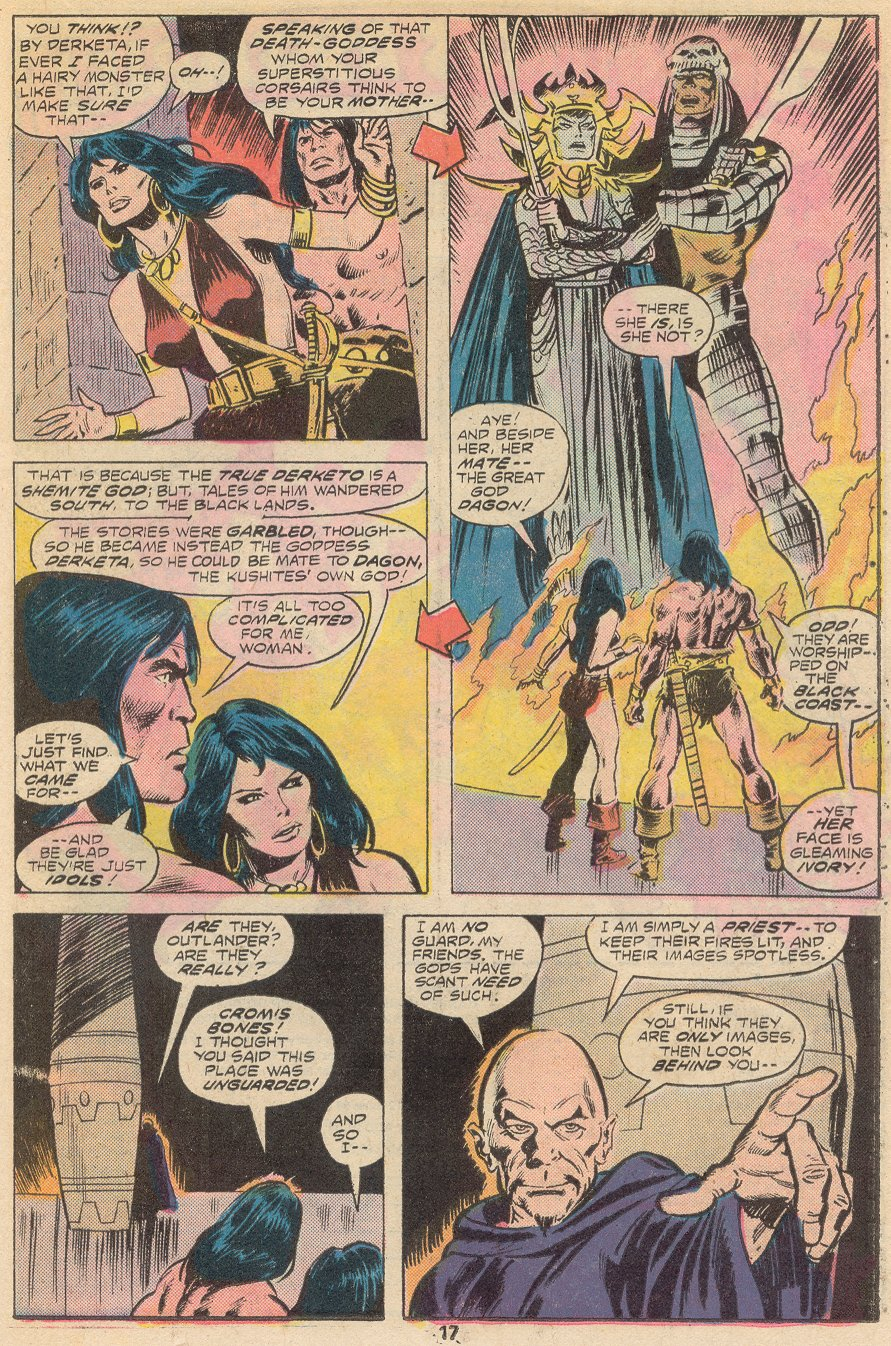 Conan the Barbarian (1970) Issue #66 #78 - English 12
