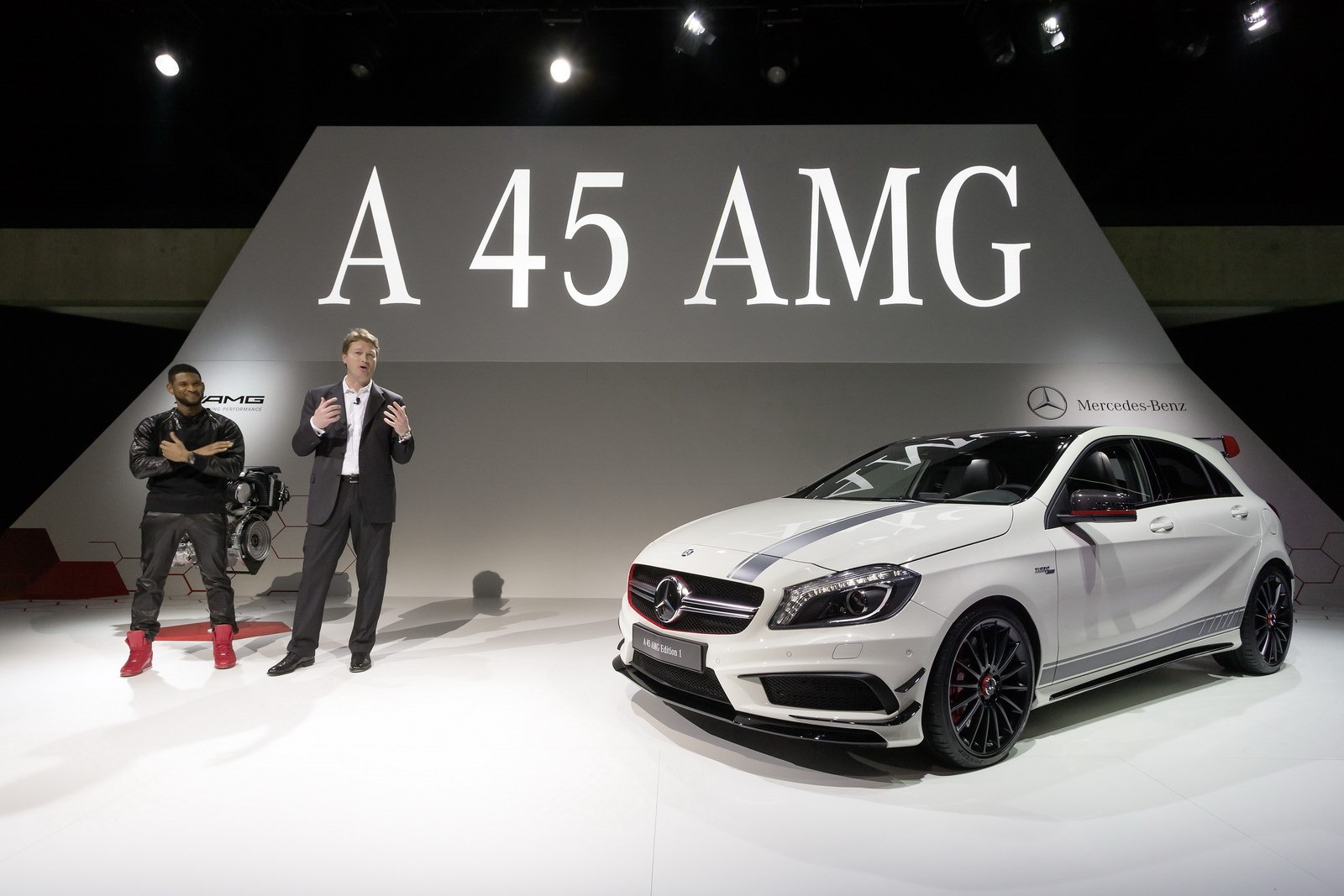 new 355hp mercedes benz a 45 amg bows at the geneva motor show. Black Bedroom Furniture Sets. Home Design Ideas