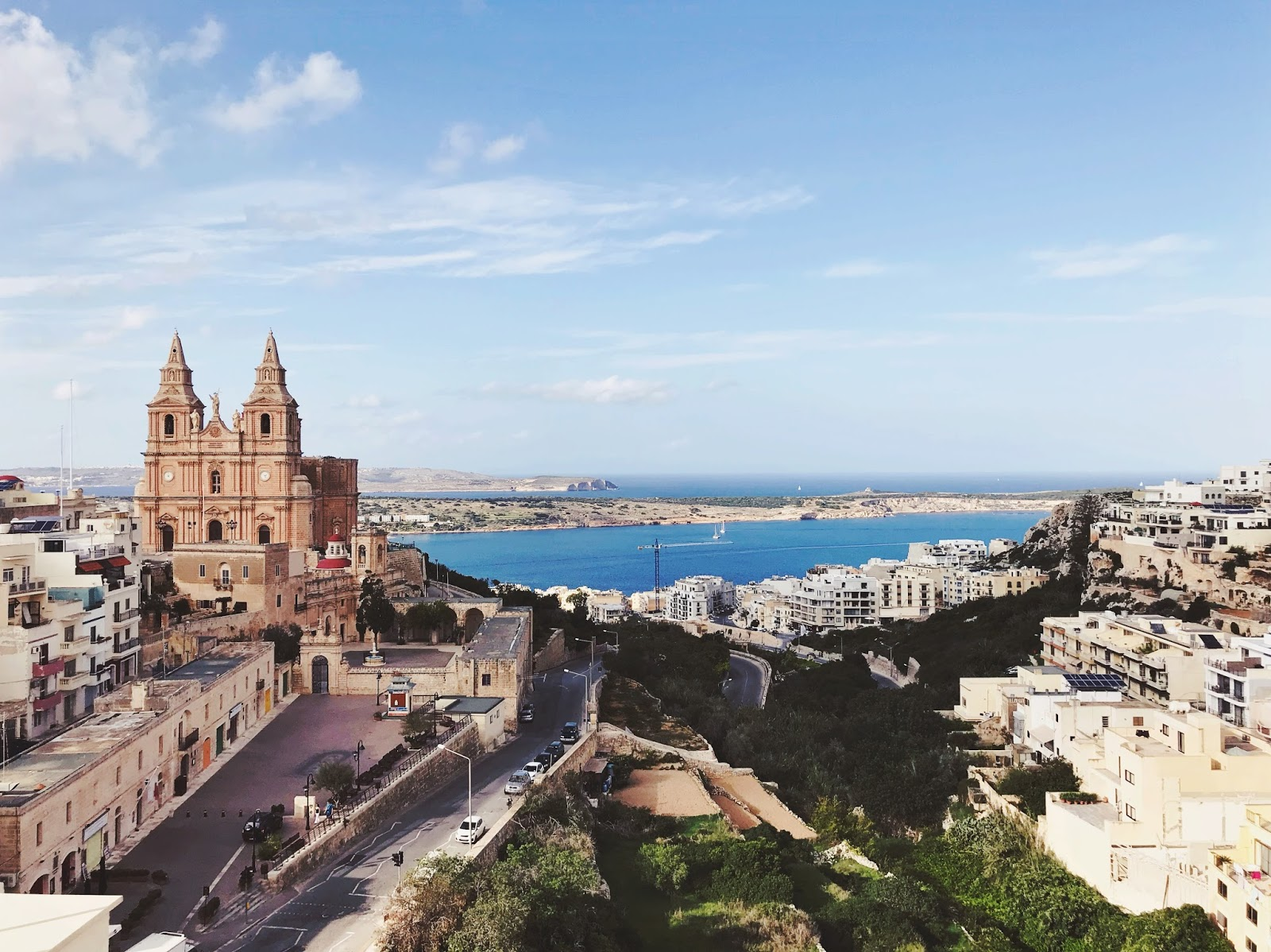 View of Malta Island
