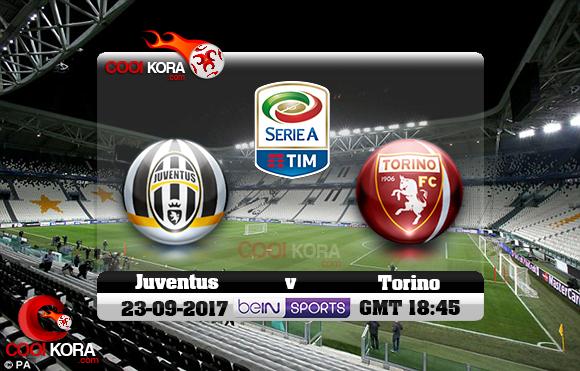 مشاهدة مباراة يوفنتوس وتورينو اليوم 23-9-2017 في الدوري الإيطالي