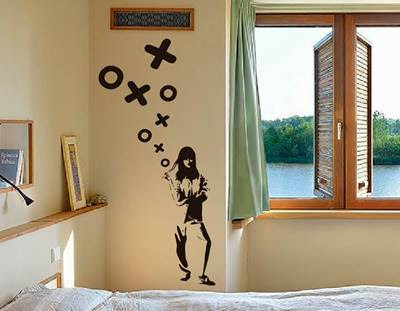 Advantages of Wall Stickers Décor