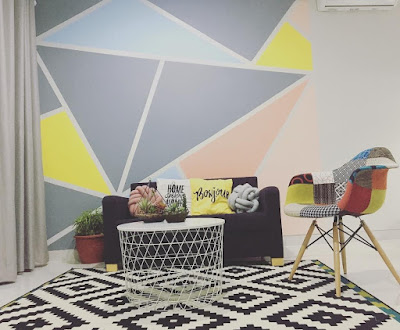 warna cat ruang tamu sejuk terbaru