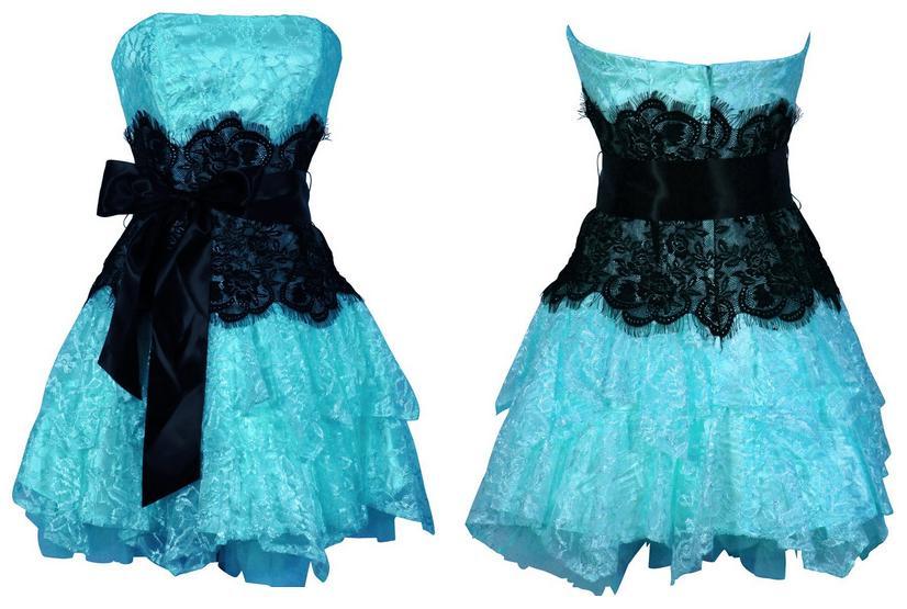 8972f84bc0 vestidos azul turquesa para graduacion de primaria