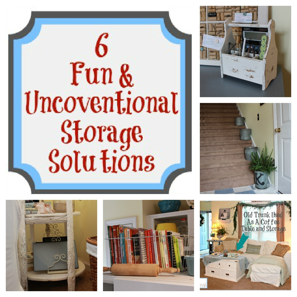 6 Fun & Unconventional Storage Solutions