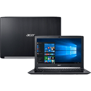 "Notebook Acer A515-51G-58VH Intel Core I5 8GB (GeForce 940MX com 2GB) 1TB Tela LED 15.6"" Windows 10"