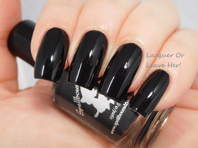 Spellbound Nails Black Eye