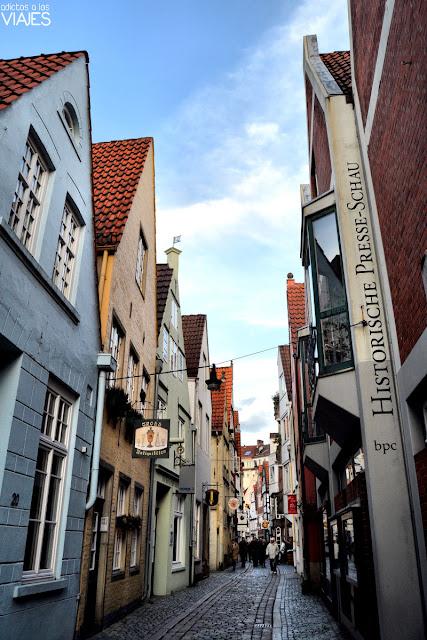 Barrio Schnoor, Bremen