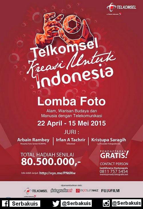 Lomba Foto Telkomsel Kreasi Untuk Indonesia Hadiah 80 Juta+