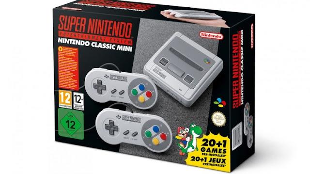 تحديد موعد فتح الطلب المسبق لجهاز Super Nintendo Classic Mini في أمريكا