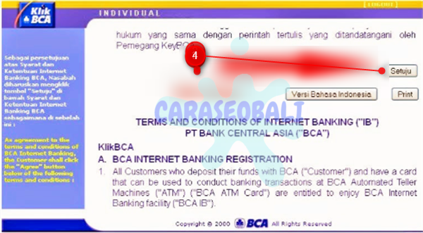 cara registrasi internet banking bca