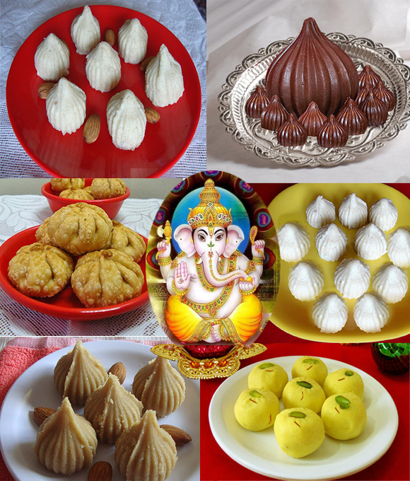Different Kinds Of  Modaks Prepared During Ganesh Festival