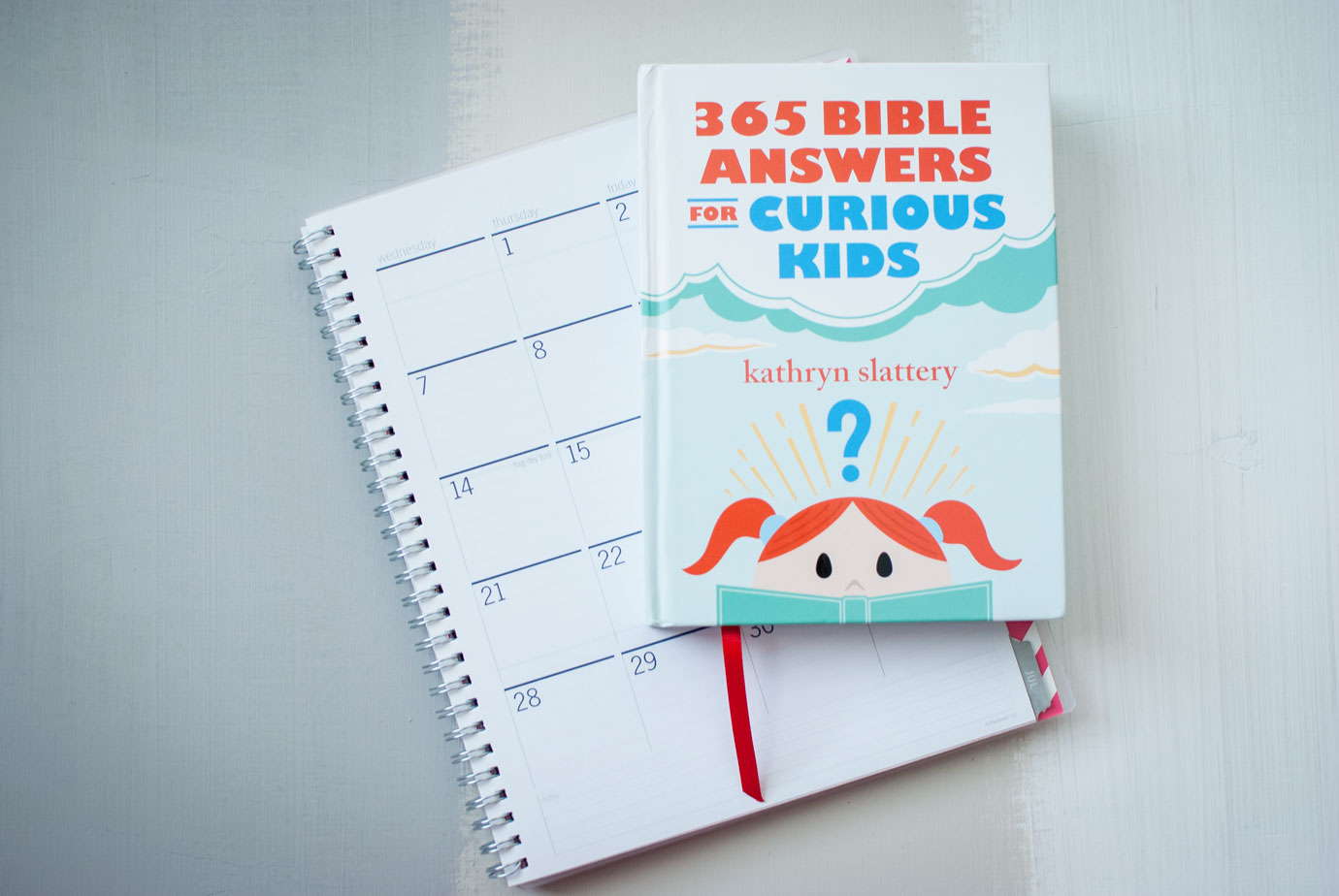 365 Bible Answers For Curious Kids by Kathryn Slattery