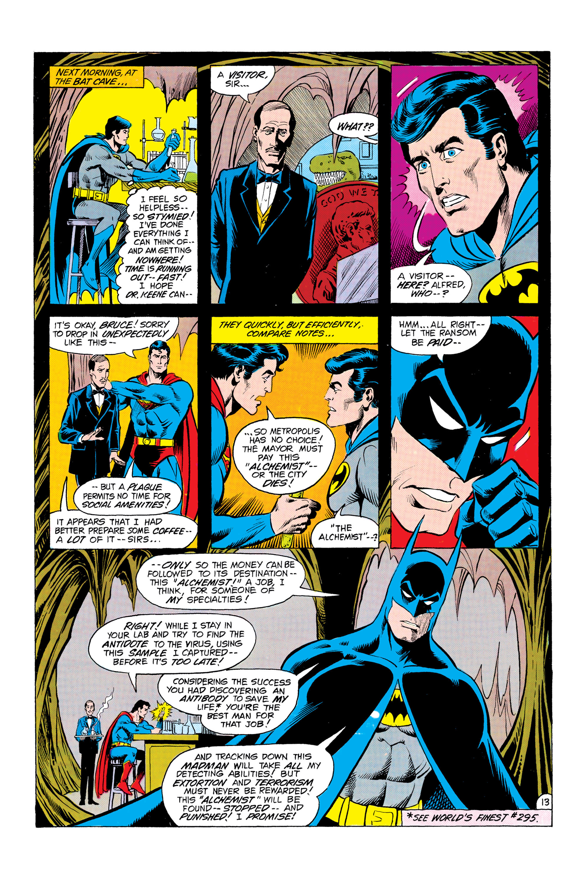 Read online World's Finest Comics comic -  Issue #303 - 14
