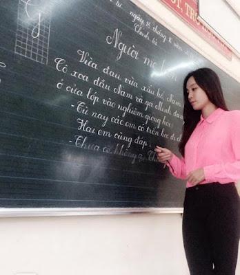 Cô giáo Hàn Quốc 9x đất Mỏ