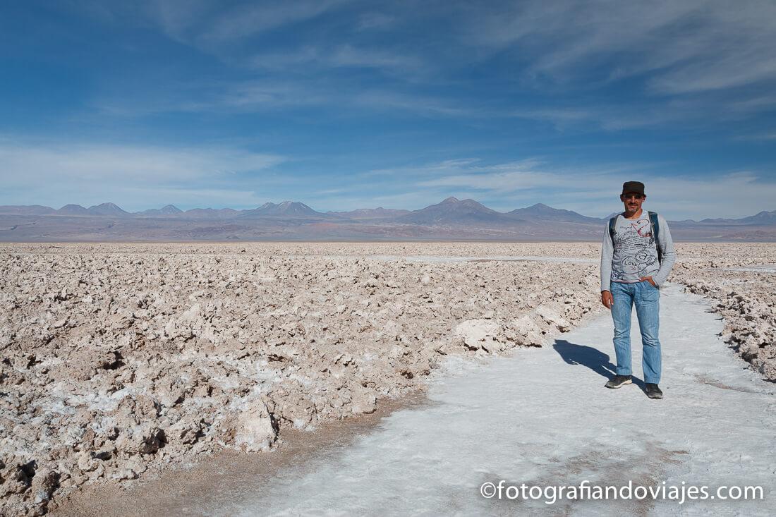 Salar de Atacama en el desierto de Atacama Chile