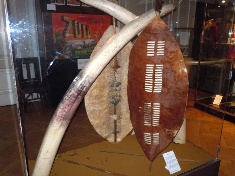 Zulu shield prop