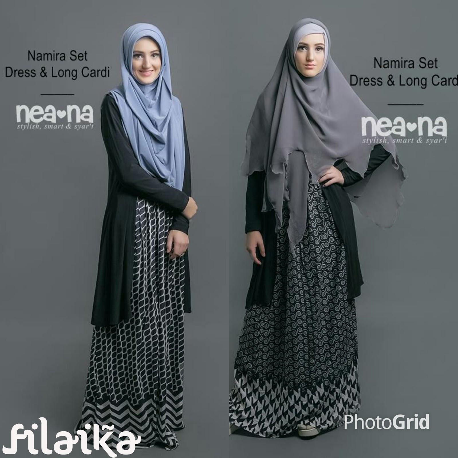 Baju Gamis Yogyakarta Busana Muslim Wanita Syari Hijab