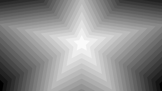 Star Shaped Gradient Mask Transition