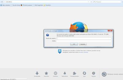 Roteador Firefox