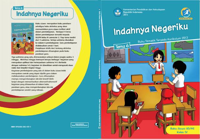 Buku Terbaru Kelas 4 Kurikulum 2013 Semester 2 Revisi 2017