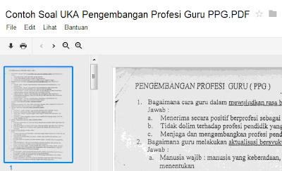 Download Kumpulan Soal Latihan UKA 2013