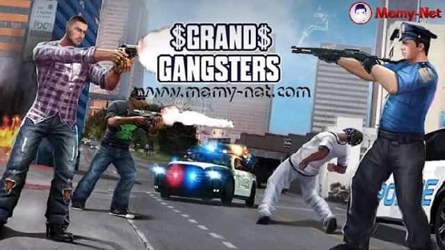 تحميل لعبة رجل العصابات Grand Gangsters 3D MOD مهكرة