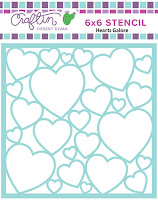 http://craftindesertdivas.com/hearts-galore-stencil/