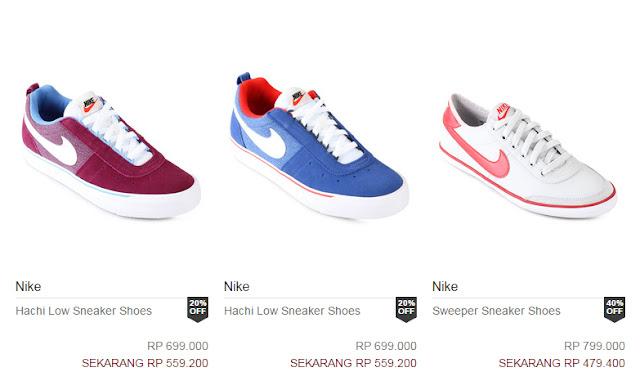 Daftar Harga Sepatu Nike Beserta Gambar Terbaru