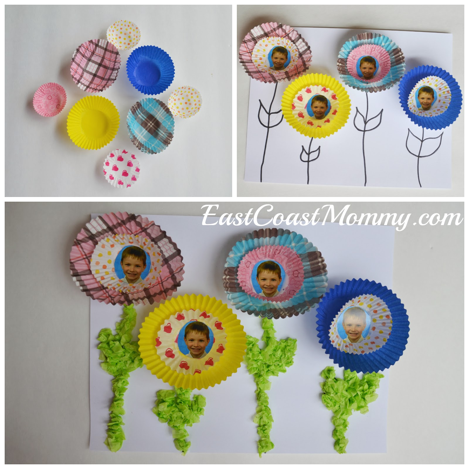 East Coast Mommy Number Crafts Number Four Spring
