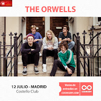 Concierto de The Orwells y No Crafts en Costello Club