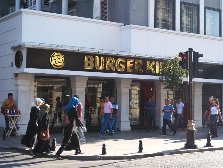 Euriental | Bling Burger King in Istanbul, Turkey