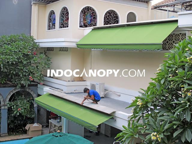 jasa canopy gulung tangerang