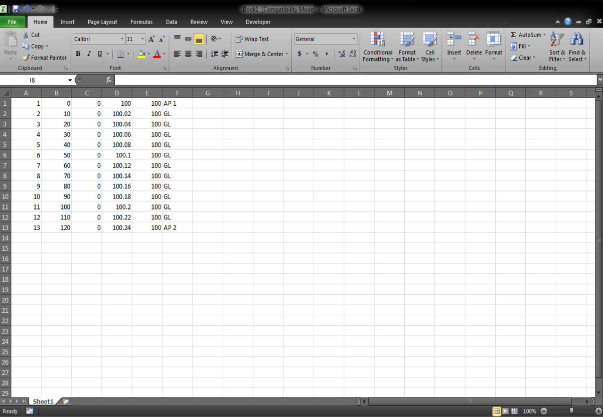 Dstar Infotech Import Data From Excel To Autocad By Using Lisp