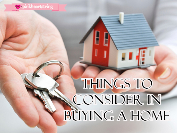 things to consider a buying a property