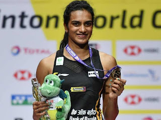 PV Sindhu won Gold in World Badminton Championship 2019