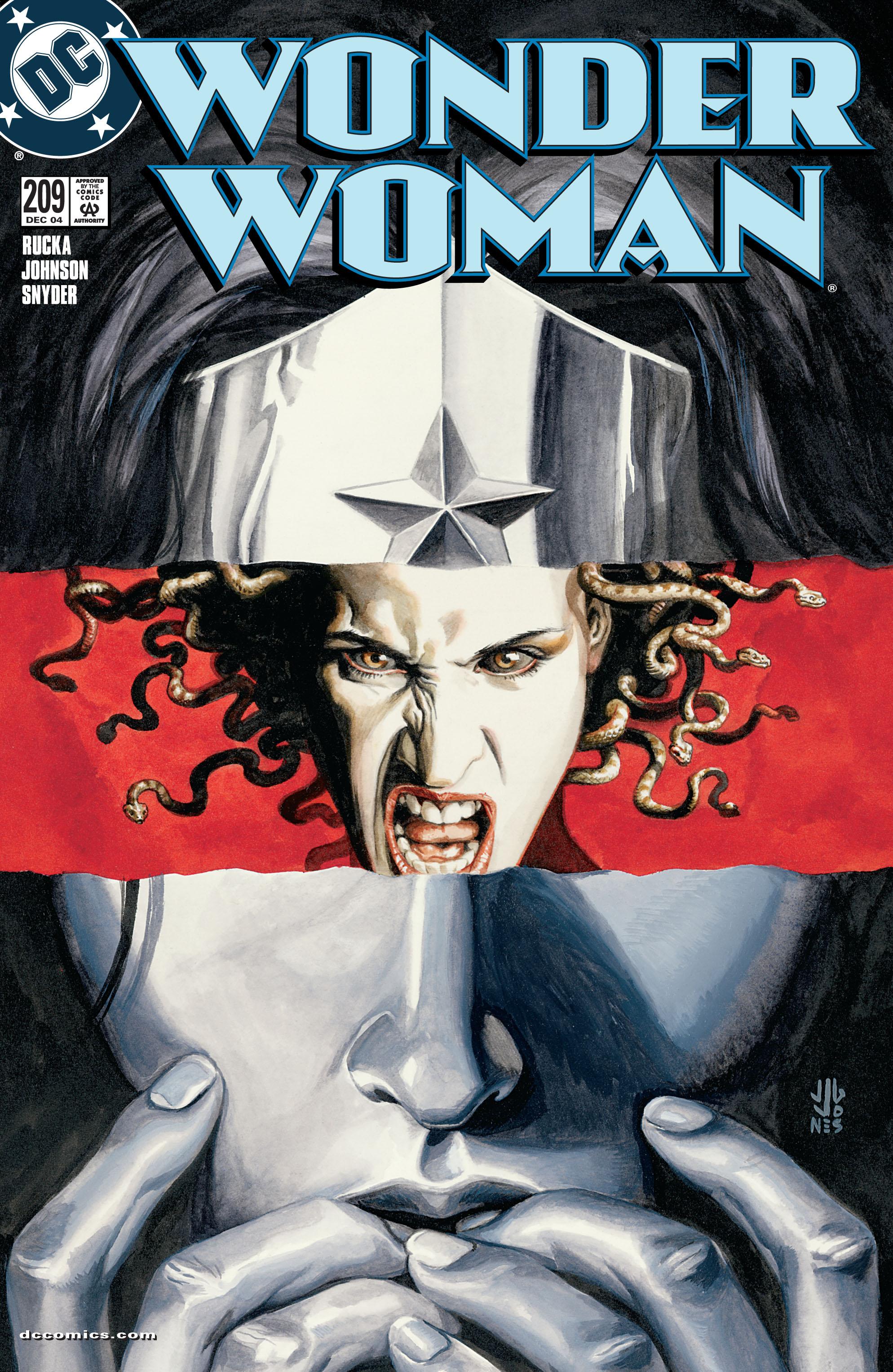 Read online Wonder Woman (1987) comic -  Issue #209 - 1