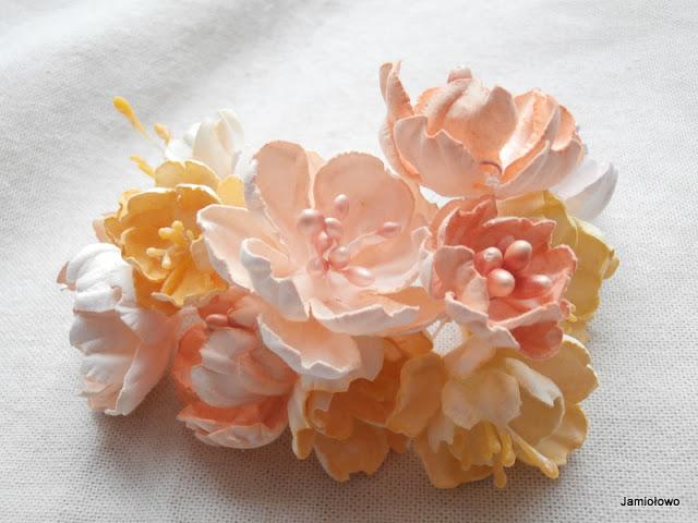 kwaity z papieru -kwiat wiśni