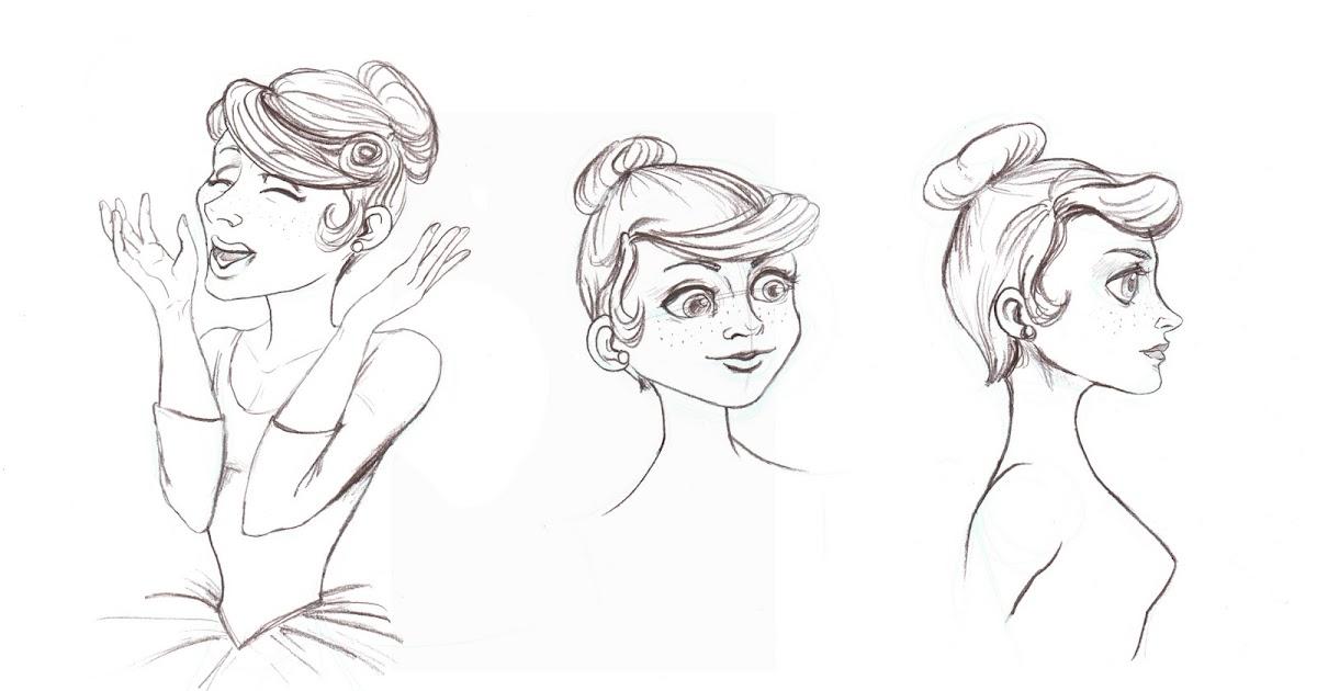 Boudicca En Medio De Un Atasco: Bailarina (Bocetos
