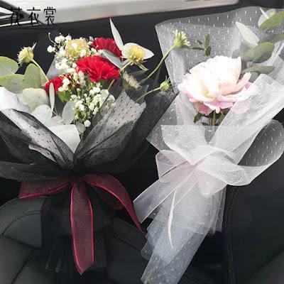 Kertas Buket Bunga / Flower Bouquet Wrapping Paper (Seri MESH DDS)
