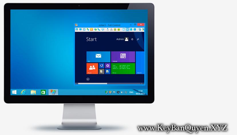 Radmin Server 3.5.1 Full Key Download, Phần mềm điều khiển máy tính từ xa an toàn.