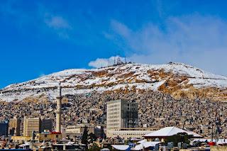 جبل يطل على دمشق