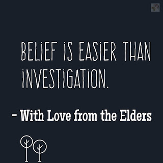 Elder of a greater age sayings