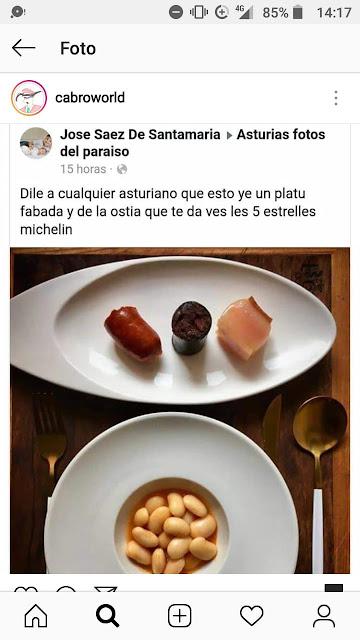 Dile a cualquier asturiano que esto ye un platu fabada y de la ostia que te da ves les 5 estrelles Michelín