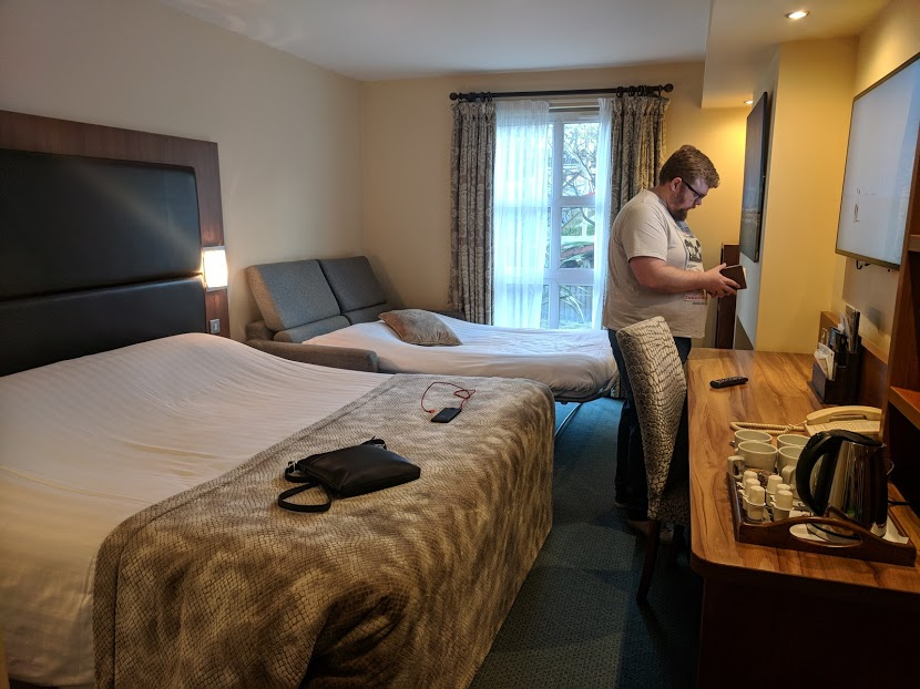 The Big Blue Hotel Blackpool | Pleasure Beach Package & Deluxe Family Room Review  - main bedroom
