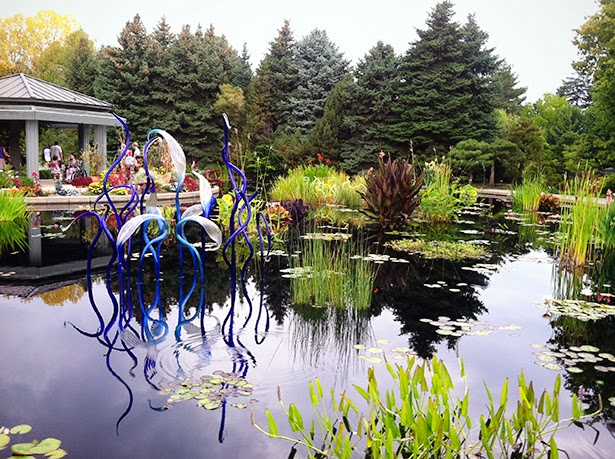 Dale Chihuly exhibit at the Denver Botanic Gardens, Denver, Colorado